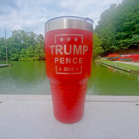 Trump Pence 2020 Tumbler