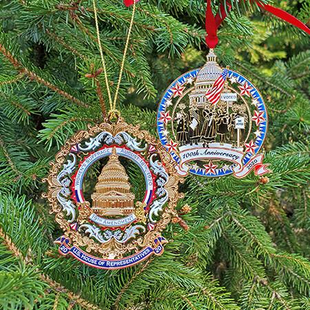 19th Amendment Commemorative Ornament Set