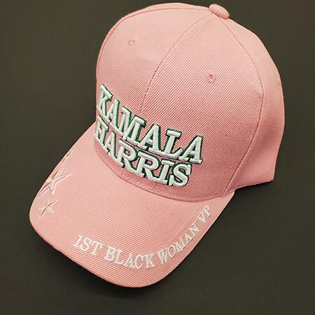 Pink Kamila Harris Golf Cap