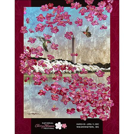 2021 National Cherry Blossom Festival Poster