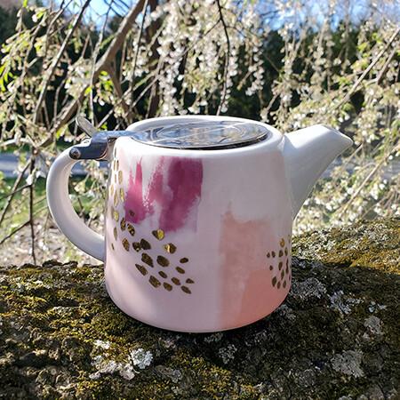 Cherry Blossom Festival Kettle Pot