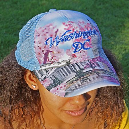 Washington DC Cherry Blossom Cap