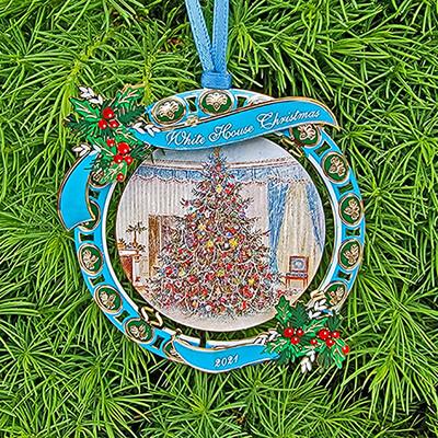 2021 Lyndon Baines Johnson Christmas Ornament