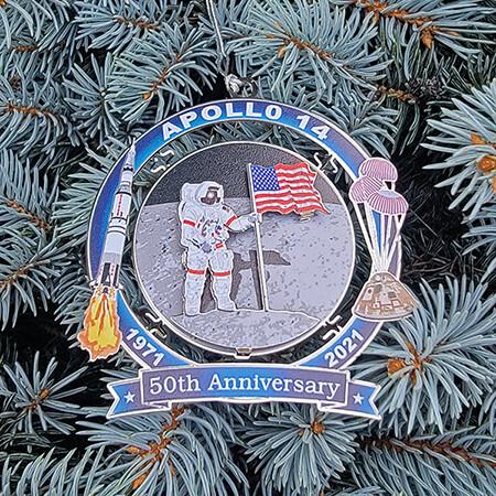 2021 Apollo 14 50th Anniversary Ornament