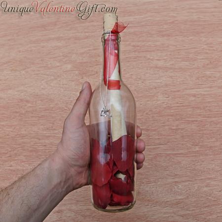 Valentine's Day - Casanova Message in a Bottle