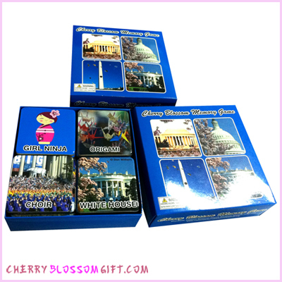Gifts - Cherry Blossoms - Memory Game