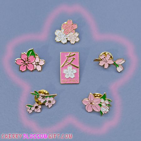 Gifts - Cherry Blossoms - Official Festival Pin Collection