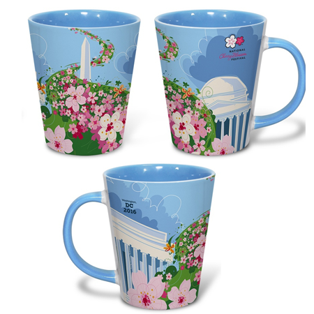 The Official 2016 National Cherry Blossom Festival 12oz Mug