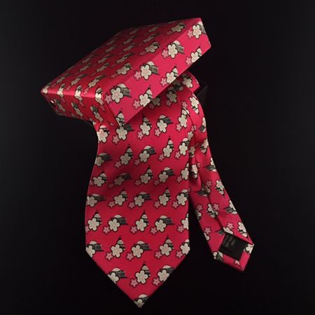 Official Pink Cherry Blossom Neck Tie