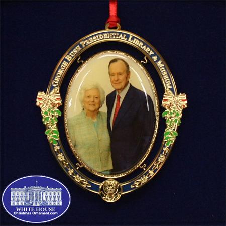 Ornaments - Commemorative George and Barbara Bush