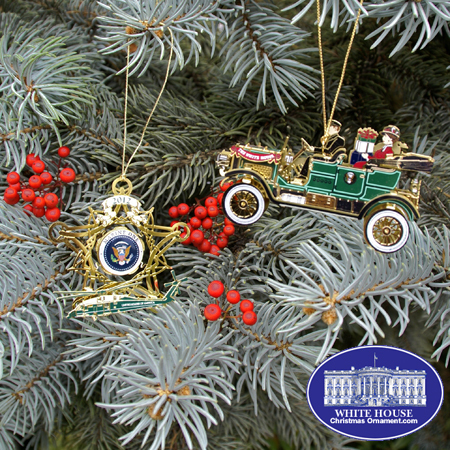 Ornaments - White House 2012 Holiday Special (Taft + Marine One)