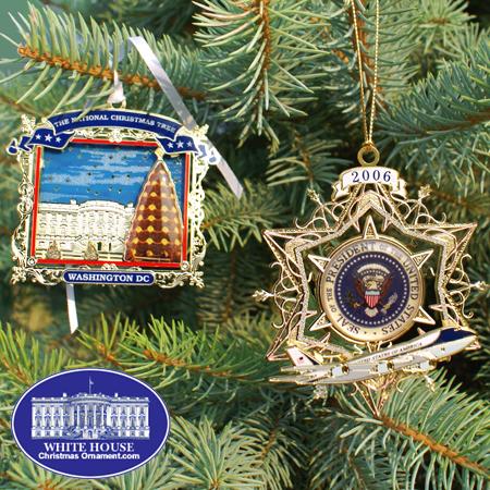 Ornaments - Secret Service 2007 Ornament Set