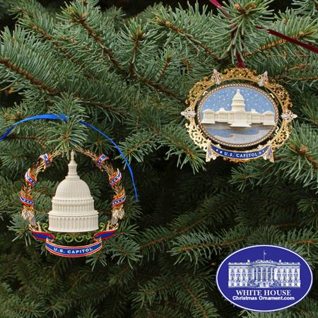 Ornaments - US Capitol 2008 Gift Set