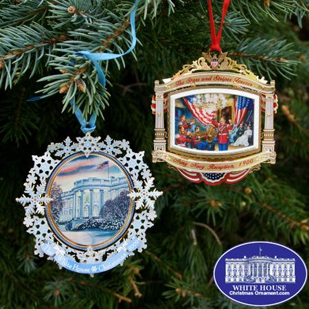 Ornaments - White House 2010 GIFT SET