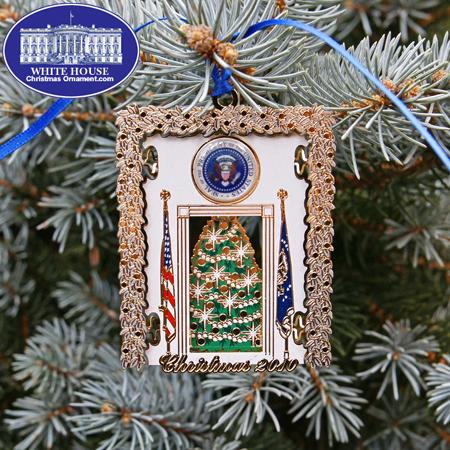 Ornaments - Secret Service 2010 Blue Room Tree