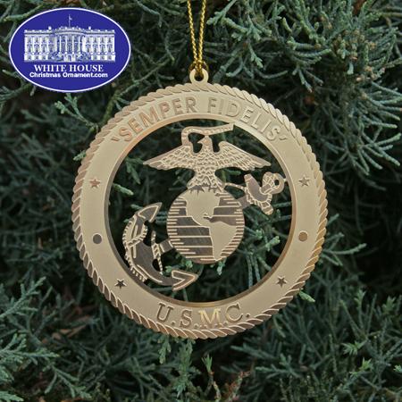 Ornaments - USMC 2011 Marine Corps Emblem