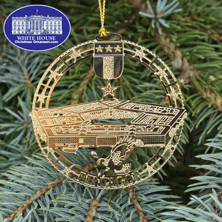 Ornaments - Pentagon 2011 3-in-1 Commemorative