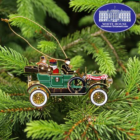 2012 White House William Howard Taft Ornament