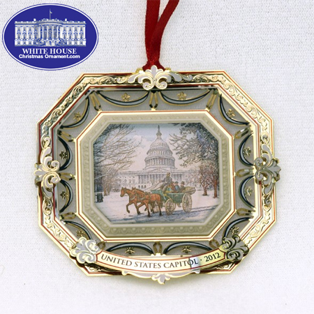 Ornaments - U.S. Capitol 2012 Marble Carriage