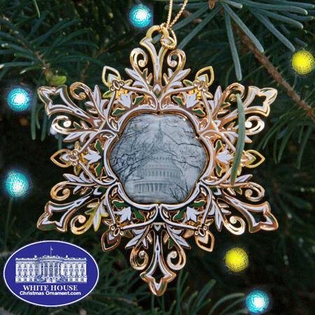 Ornaments - US Capitol 2012 50th Anniversary Snowflake