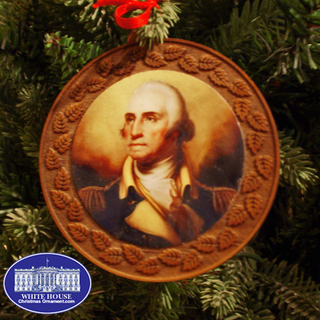 Ornaments - Mount Vernon - George Washington Wood