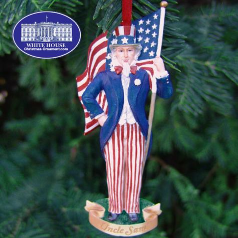 Ornaments - WHCO Uncle Sam