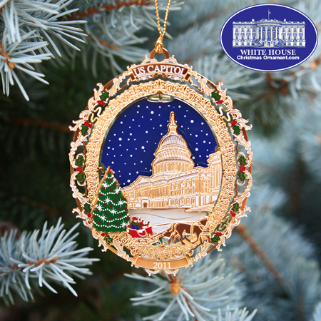 Ornaments - US Capitol 2011 Holiday Tree & Carriage