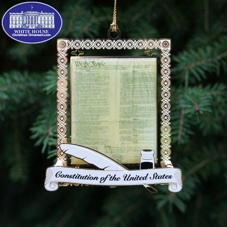 Ornaments - US Capitol 2011 Constitution