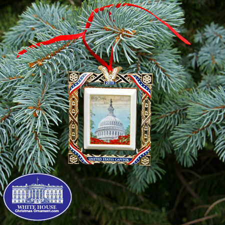 Ornaments - US Capitol 2010 Marble Framed Dome