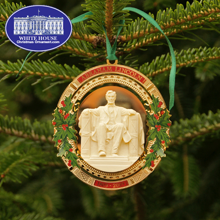 Ornaments - Secret Service 2009 Lincoln Bicentennial