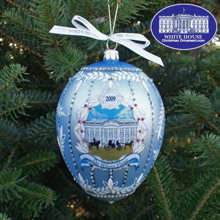 Ornaments - Glass - John Adams 2009 Administration