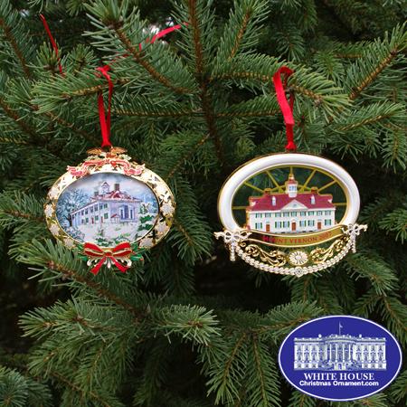 Ornaments - Mount Vernon 2008 Gift Set