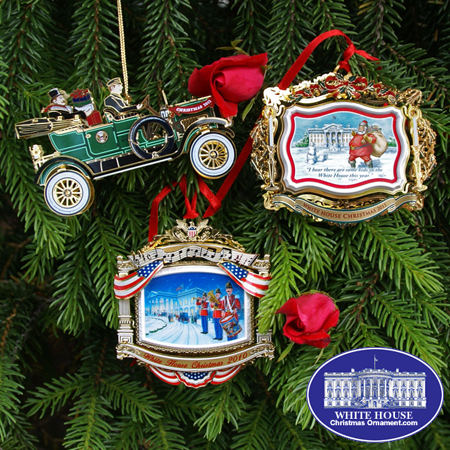 Ornaments - White House (2010-2012) Gift Set