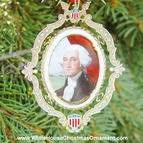 Ornaments - Mount Vernon American Presidents - George Washington