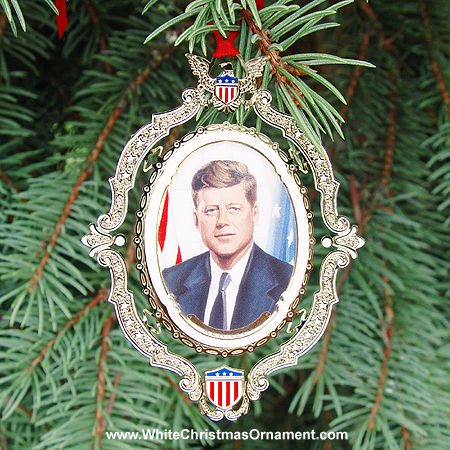 Ornaments - Mount Vernon American Presidents - John F Kennedy