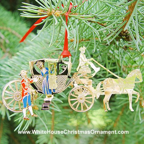 Ornaments - Mount Vernon 1998 Powel Coach