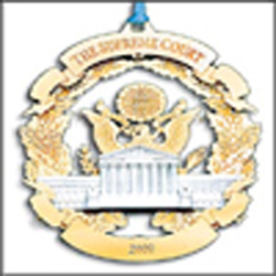 Ornaments - Supreme Court 2000 Holiday Marble