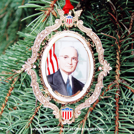 Ornaments - Mount Vernon American Presidents - Harry S Truman