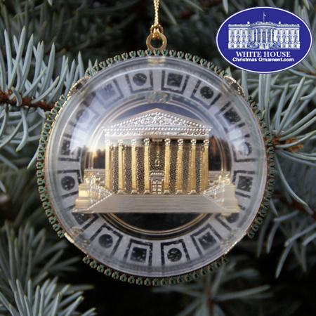The 2007 Supreme Court West Plaza Ornament