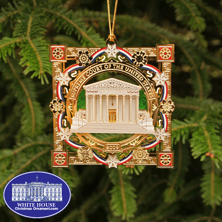2009 Supreme Court Holiday Ornament
