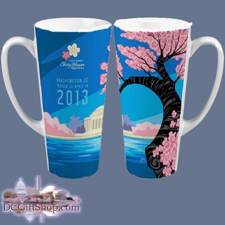 Cherry Blossoms - 2013 Festival Tall Mug