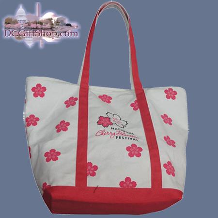 Cherry Blossoms - 2013 Festival Canvas Tote Bag