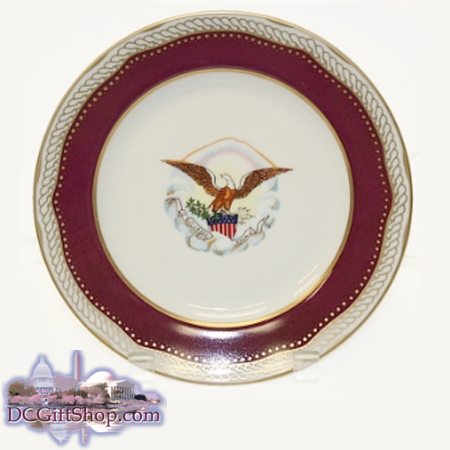 Gifts - Plate - Lincoln Presidential China Dinner