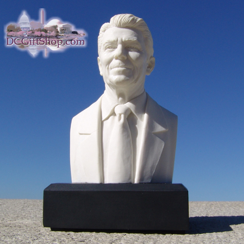 Gifts - Busts - Ronald Reagan - WHITE