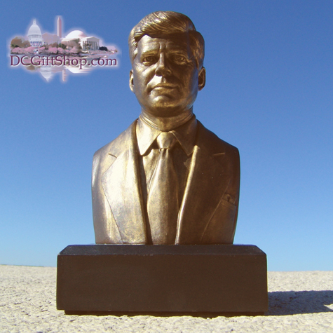 Gifts - Busts - John F Kennedy - BRONZE