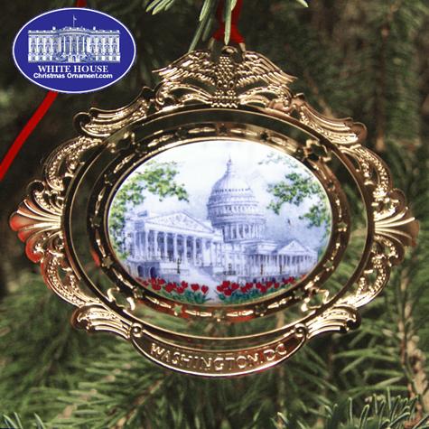 Ornaments - Cameo - US Capitol Portrait