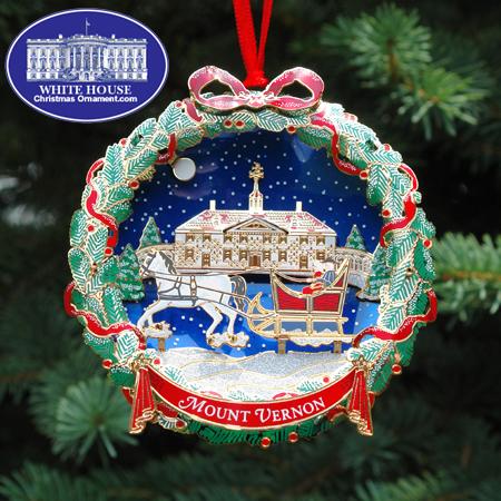 Ornaments - Mount Vernon 2006 The Sleighride