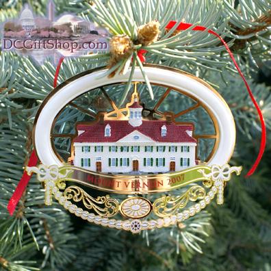 Ornaments - Mount Vernon 2007 Anniversary