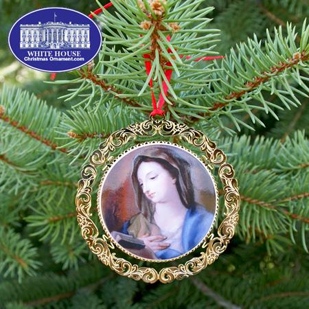 Ornaments - Mount Vernon 2008 Virgin Mary