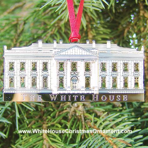 Ornaments - White House 2002 North Portico